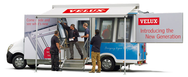 Velux New Generation Roof Windows Roadshow Beatsons