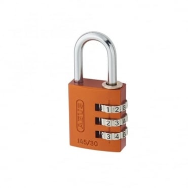 ABUS 30mm Aluminium Combination Padlock Random Colour 46632 - 145/30
