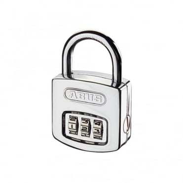 ABUS 40mm Combination Padlock ( 3 Digit) Steel Case Die Cast Body - 160/40