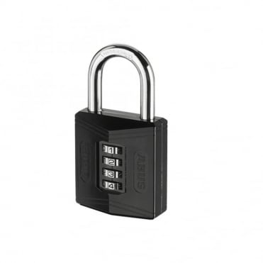 ABUS 50mm Combination Padlock ( 4 Digit) Die Cast Body - 158/50