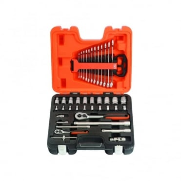 S410 Socket and Spanner Set 41 Piece 1/4in & 1/2in Drive