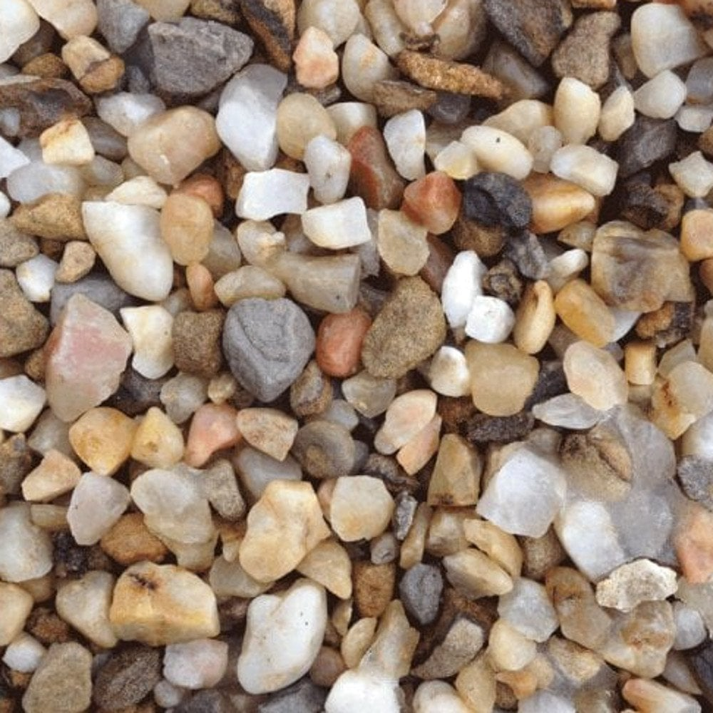 Buy 20mm Golden Gravel Quartz Online At Beatsons Direct