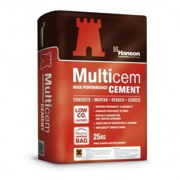 Castle Multicem Cement 25kg