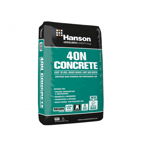 Buy Ready Mix 40n Concrete 25kg Online At Beatsons Direct