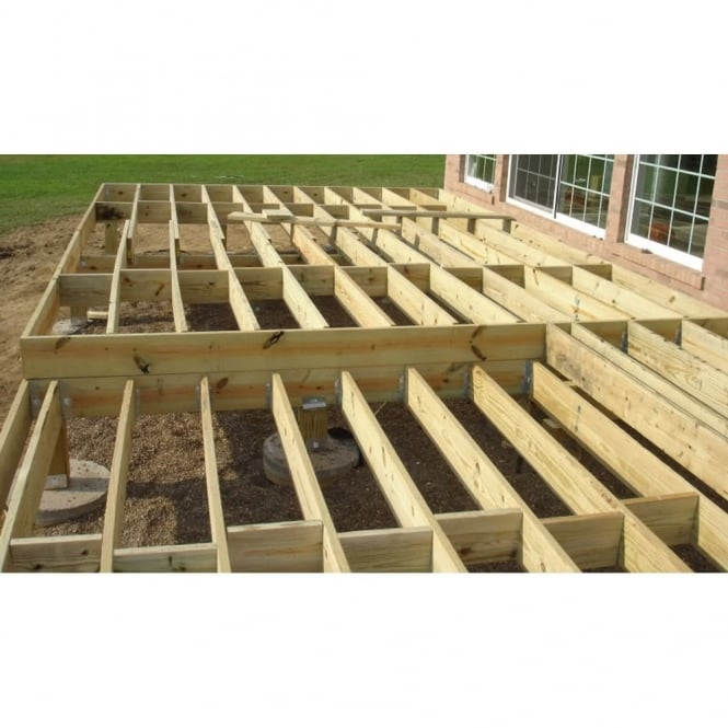 Decking joist length for 4 8 meter decking boards