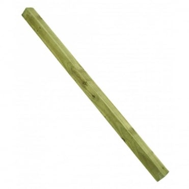 Square End Fence Post - 2400mm x 75mm x 75mm (8'x3