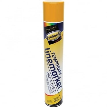 Prosolve Temporary Marker Yellow 750ml (Box of 6)