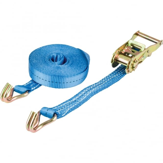 Blue Diamond Ratchet Strap 25mm X 8m X 1500kg RAS (1875kg BS) (Box of 25)