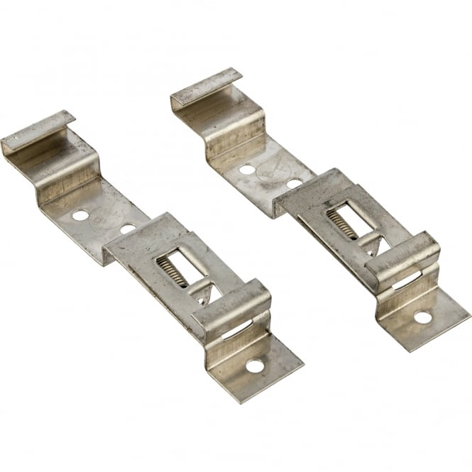 Blue Diamond Spring Loaded Number Plate Clips