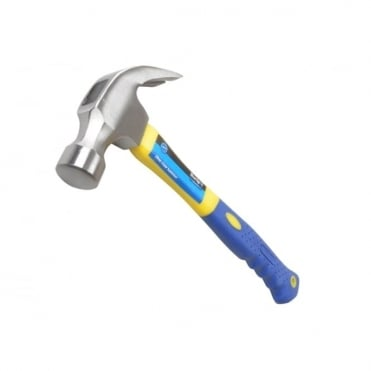 Claw Hammer With Fibreglass Shaft 570g (20oz)