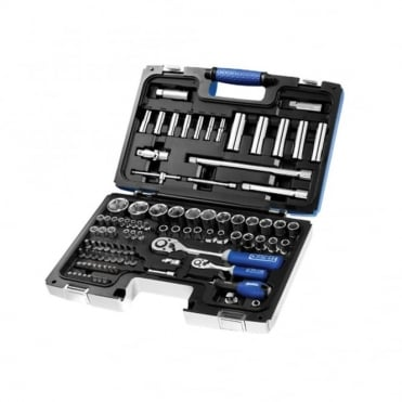 Socket Set 98 Piece Mixed Drive 1/4 & 1/2 in Drive