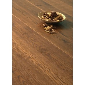 Balmoral Oak Handscraped, Cognac Stained Oiled Flooring