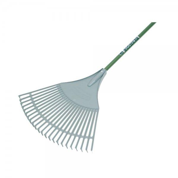 Evergreen plastic leaf rake for Large rake garden tool