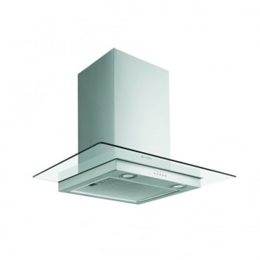Stainless Steel and Glass Wall Hood