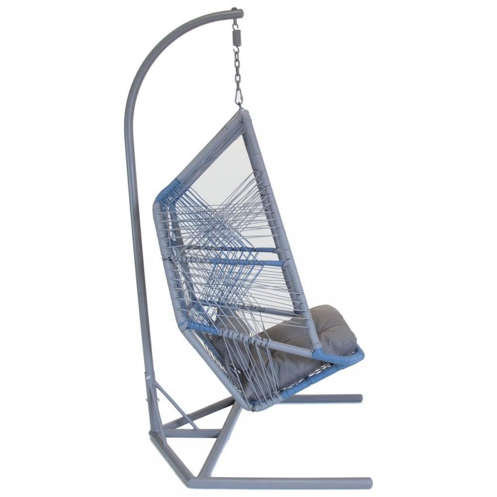 Charles Bentley Acapulco Garden Hanging Chair Swing Wicker Rattan Garden From Beatsons Direct Uk