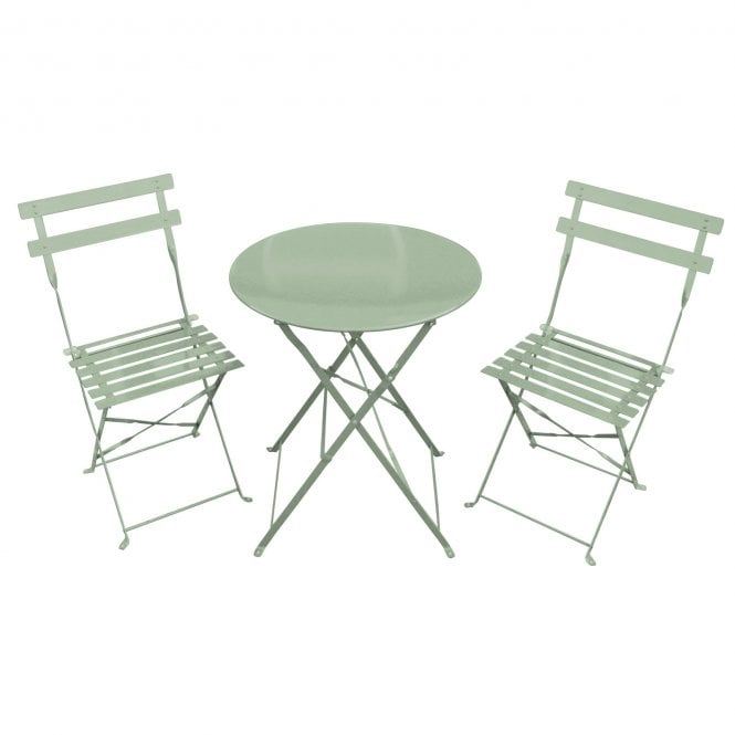 Metal Garden Table And Chair Sets Uk: Charles Bentley Bentley Garden 3 Piece Metal Garden Patio