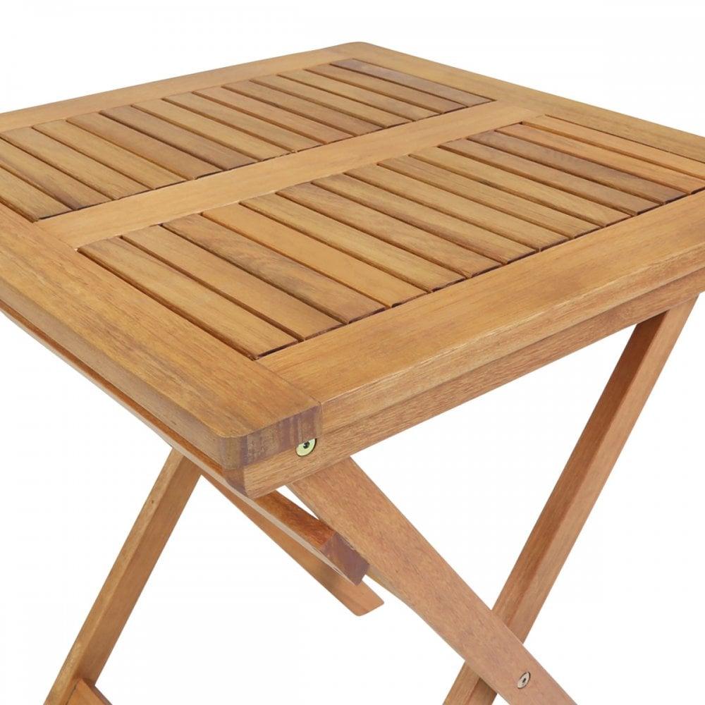 - Charles Bentley FSC Hardwood Wooden Garden Furniture Square