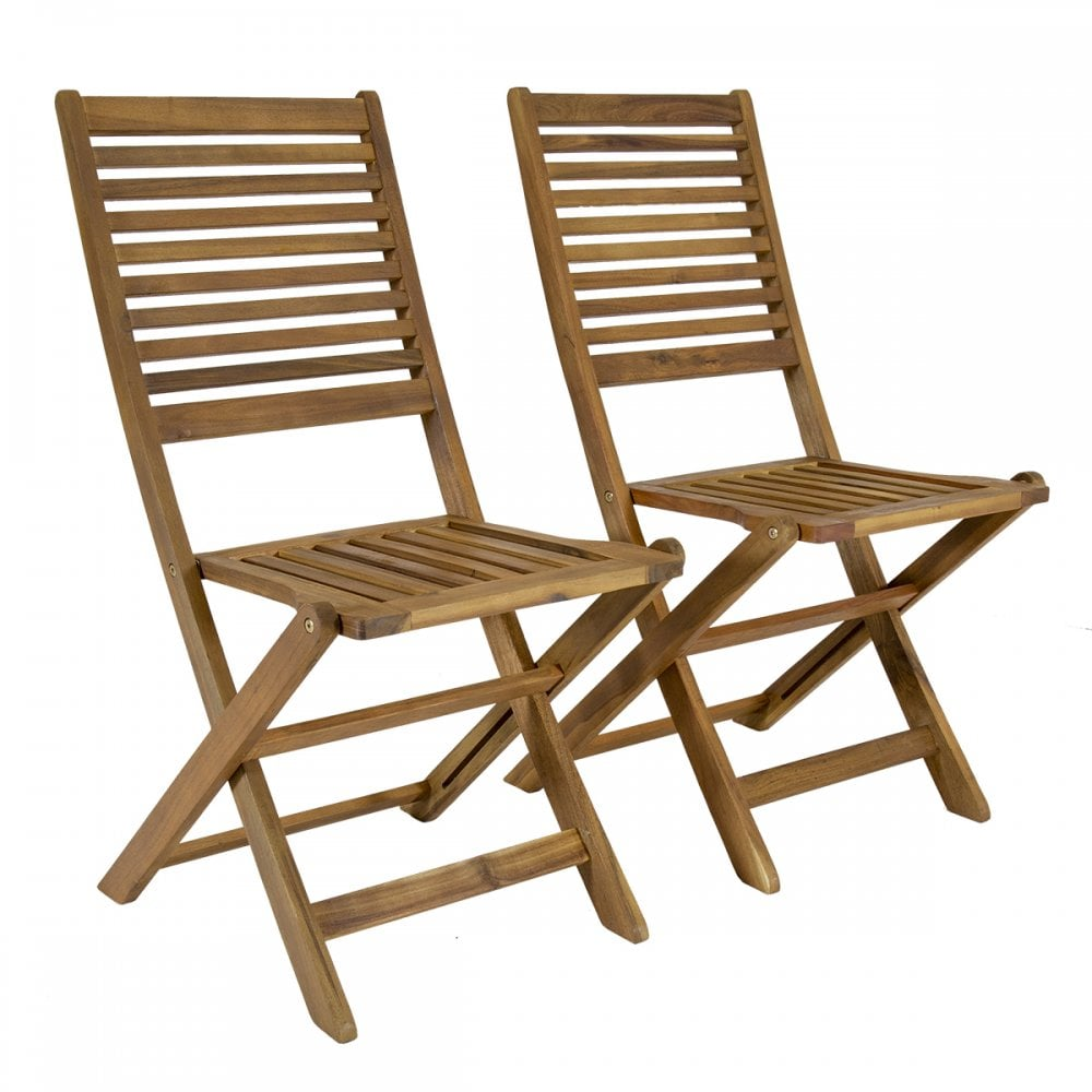 Awe Inspiring Pair Of Wooden Outdoor Dining Patio Foldable Chairs Download Free Architecture Designs Rallybritishbridgeorg