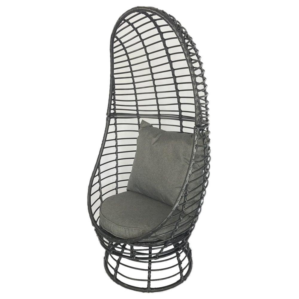Charles Bentley Single Rattan Pod Chair Garden From