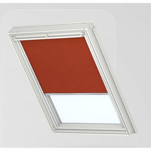 Dkl blackout blind terracotta for Velux customer support