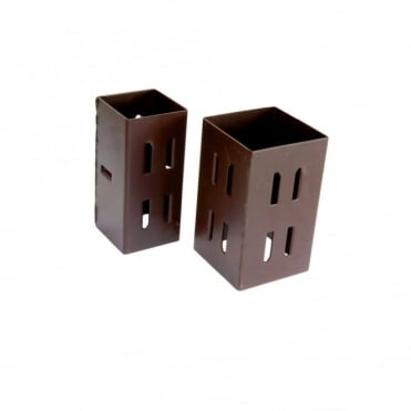 100mm Brown Hold Post Extender (Box of 10)