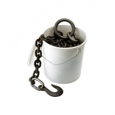 12' x 1/2inch Self Colour Agric Towing Chain Pail