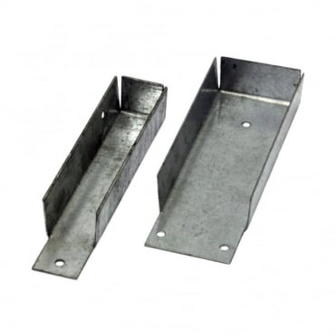 150 x 50mm Galvanised Gravelboard Brackets (Box of 100)
