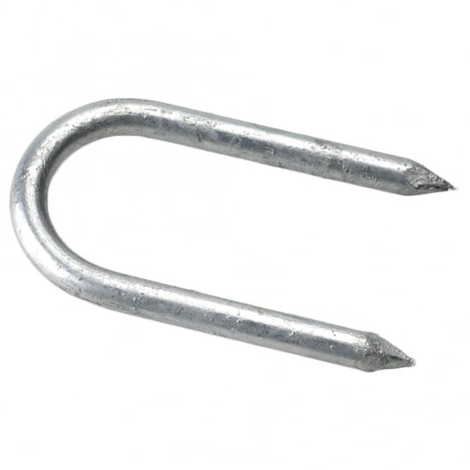 Eliza Tinsley 2.5inch x 6mm Galvanised Staples (Box of 50)