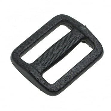 25mm Black 3 Bar Slide Buckle (Box of 5)