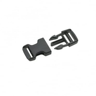25mm Black Side Release Buckle (Box of 5)