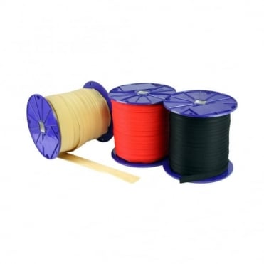 25mm Yellow/Black Webbing (Reel of 150m)