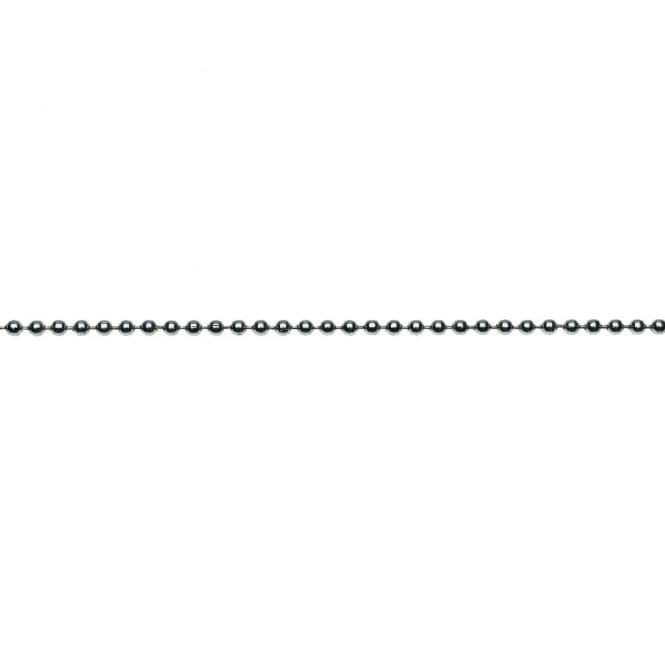 Eliza Tinsley 3mm (No.6) Chrome Plated Ball Chain Reel - 40m