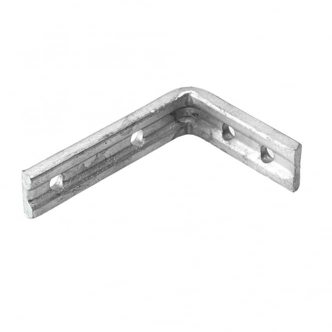 Eliza Tinsley 4inch x 3inch Galvanised Angle Brackets (Box of 50)