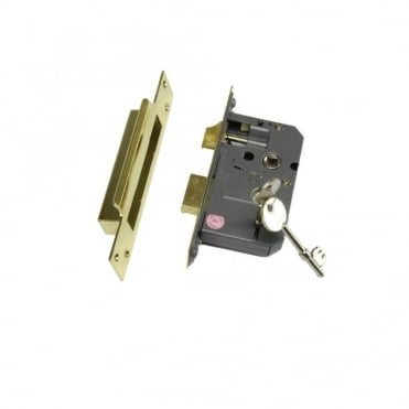 63mm Sc 5 Lever EZR Sash Lock (Box of 5)