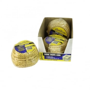 6mm Sisal Rope 30M/Coil (Box of 5)