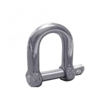 6mm Stainless Steel Dee Shackle (Box of 5)