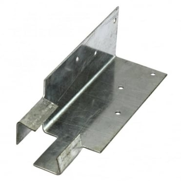 75mm Galvanised Arris Rail Mortise Bracket (Box of 50)