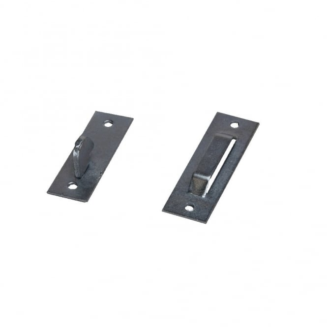 Eliza Tinsley Black Keep Only For Suffolk Latches (Bag of 25)