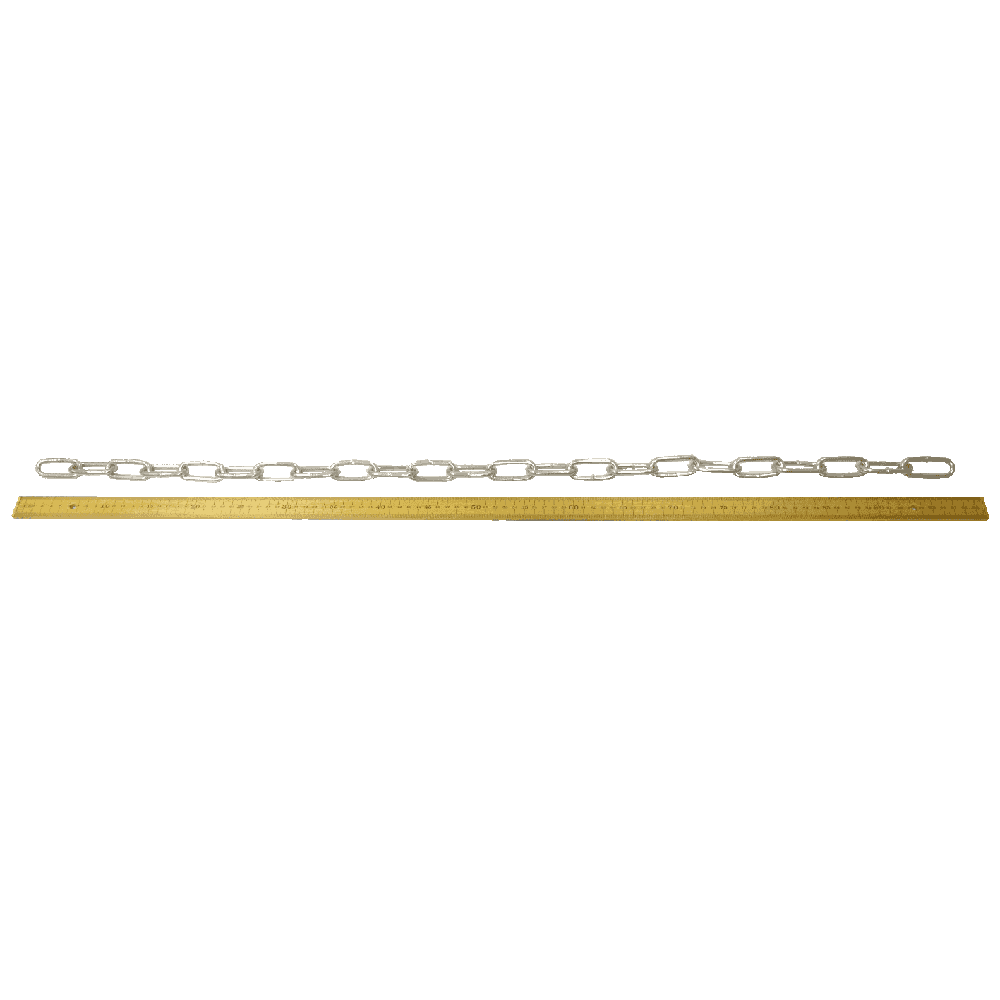 Eliza Tinsley Galvanised Tested & Certified Short Link Chain (meter)