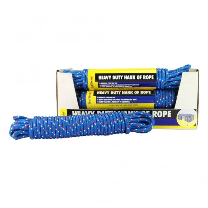 Eliza Tinsley Heavy Duty Hank of Rope 9mm x 15M (Box of 10)