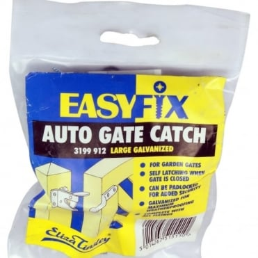 Large Galvanised Auto Gate Catch Wallet