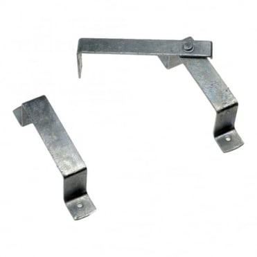 Pre-packed Galvanised Slip Rail Brackets (Box of 5)
