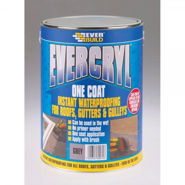 Evercryl One Coat Grey 5kg