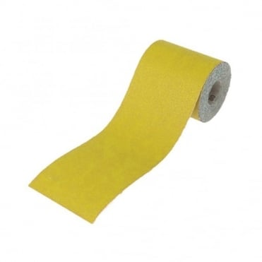 Aluminium Oxide Paper Roll Yellow 115mm x 50m 40G