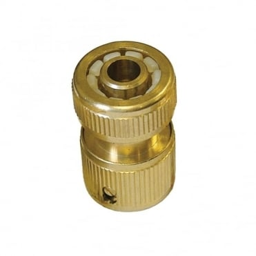 Brass Female Hose Connector 1/2in