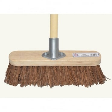 Broom Bassine 30cm (12in) Head with 48 inch handle