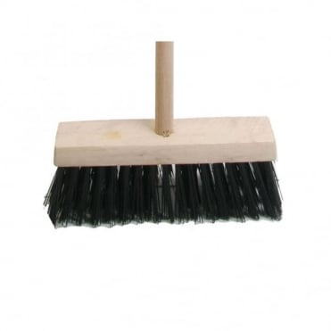 Broom Blue PVC 325mm (13 in) with Handle