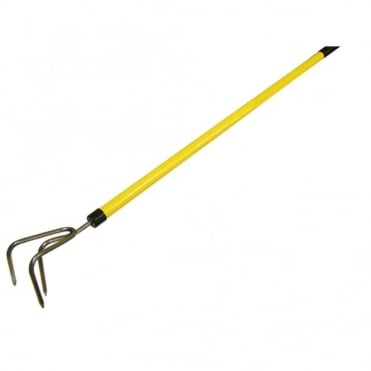 Cultivator 3 Prong Fibreglass Shaft