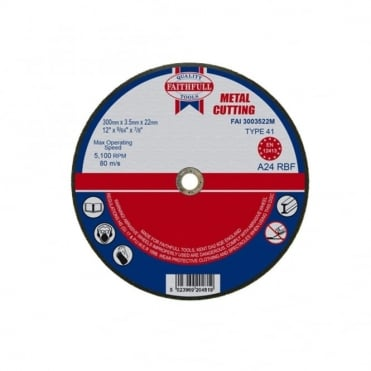 Cut Off Disc for Metal 300 x 3.5 x 22mm