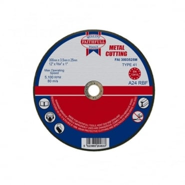 Cut Off Disc for Metal 300 x 3.5 x 25mm